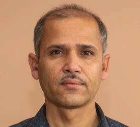 Madan Gautam, HOD Nepali
